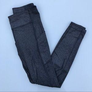 lululemon Soeed Up Leggings Size 4 Shiny Gray